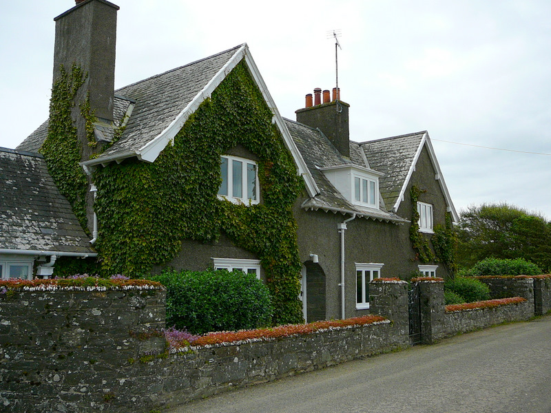 Elizabeth's house near Borgue