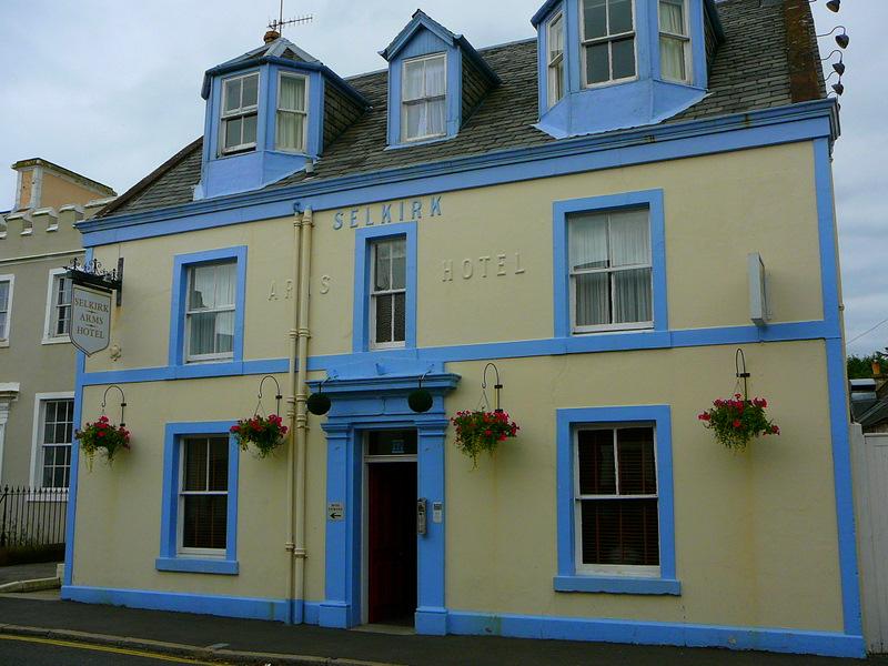 Selkirk Arms Hotel in Kirkcudbright