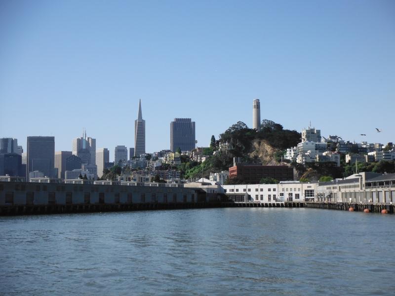 SF city view