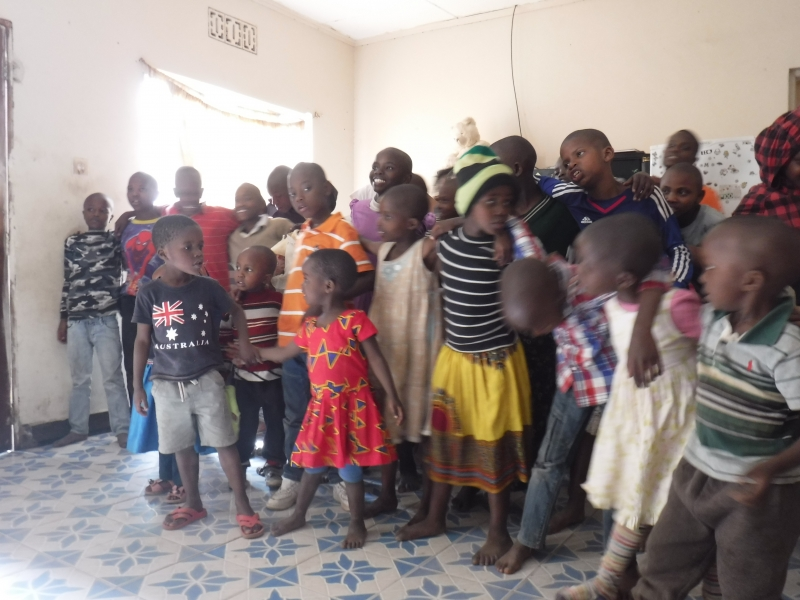 A song from the kids at Mama Jane's orphanage