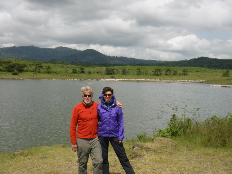 Momela Lakes at Arusha National Park