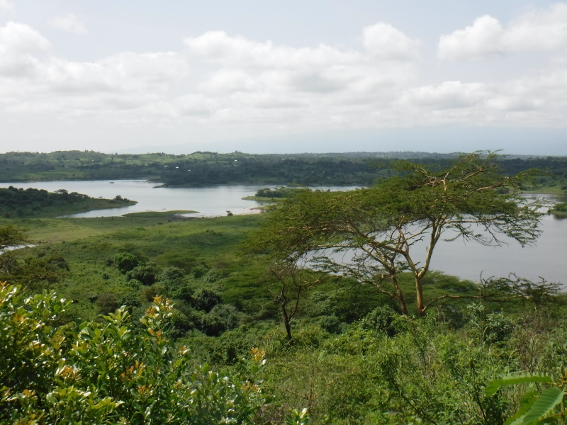 Momela Lake at Arusha National Park
