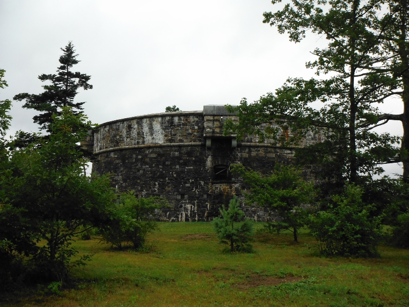 Prince of Wales Martello Tower - Point Pleasant Park - Halifax NS