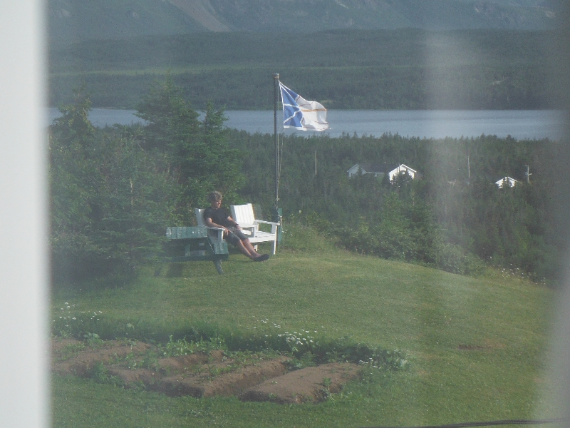 Relaxing at Sheppard's B&B - Trout River - NL