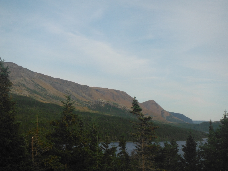 Tablelands from Trout River Pond - NL