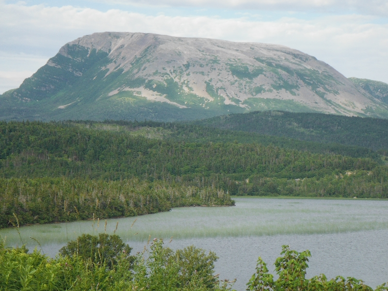 Gros Morne Mountain in the distance - NL