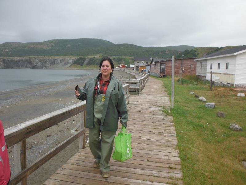 History of Trout River walk by local Marsha - Trout River NL