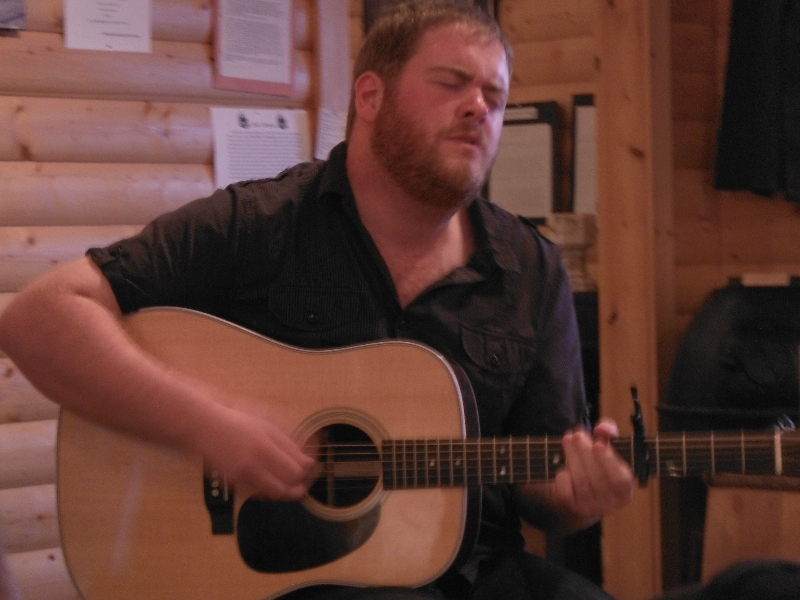 Matthew Byrne at a Kitchen Party - Trout River NL
