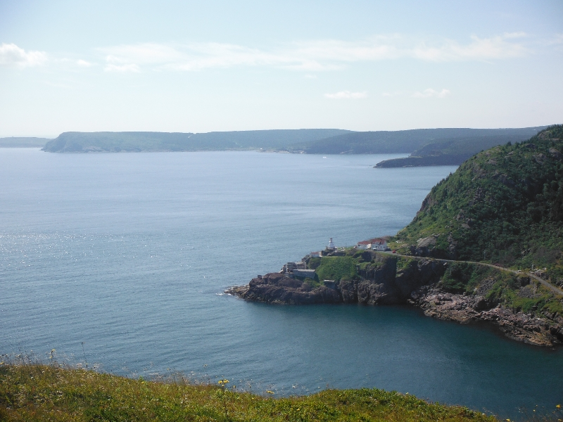 St. John's Narrows from Signal Hill - NL