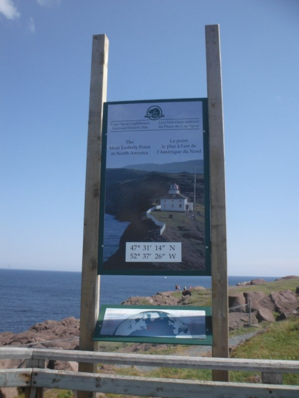 Most easternmost point in North America - NL