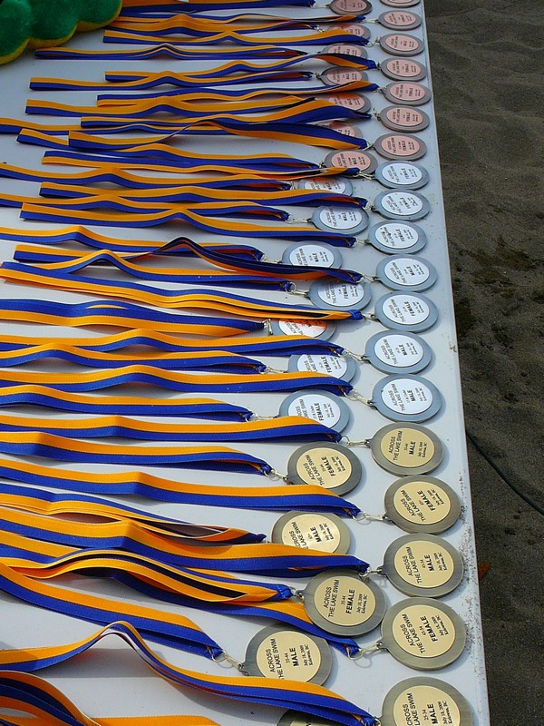 Medals - Across the Lake Swim 2009