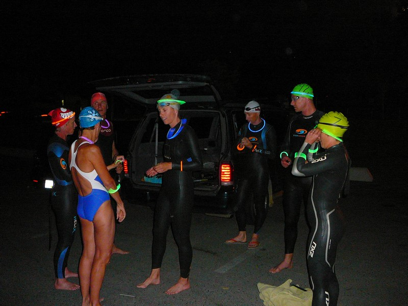 Full Moon Swim - August 2009