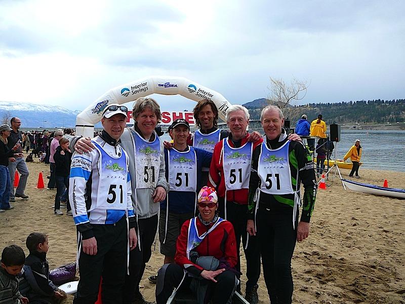 Beach team photo