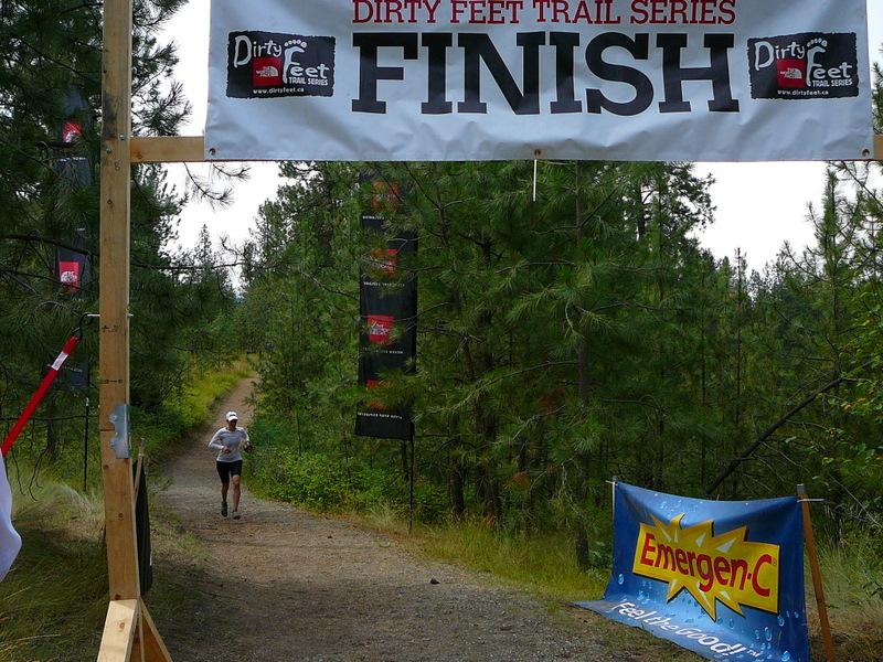 Dirty Feet 21km finish