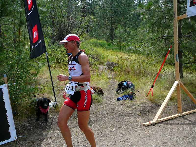 Dirty Feet 21km Kari's finish