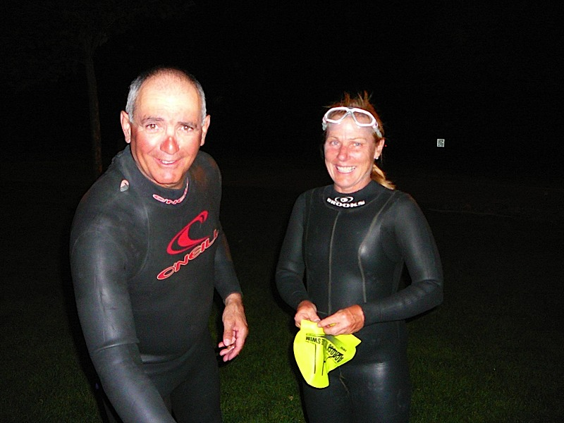Full Moon Swim August 13 2011