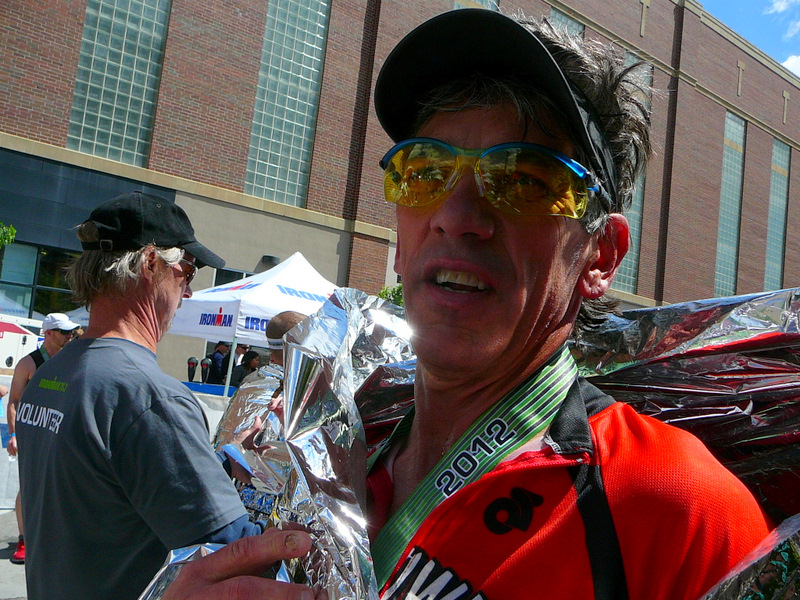 Boise 70.3 - Ken at the finish