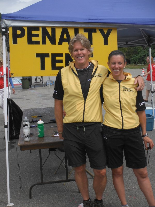 Penalty Tent at Challenge Penticton