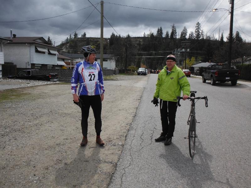 Road bike to run transition
