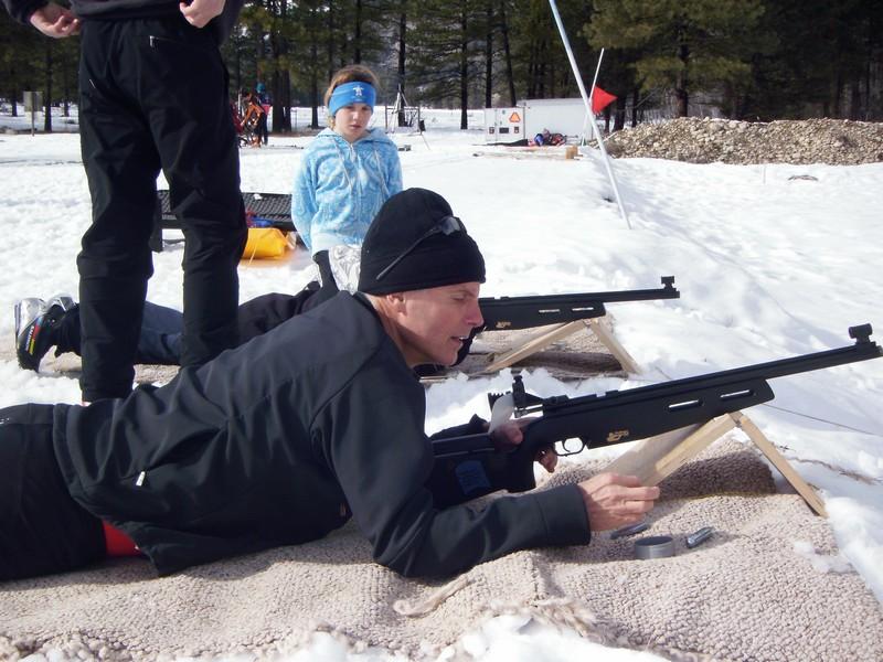 Trying the biathlon thing ...