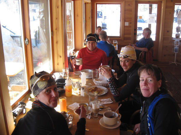 Lunch at 32km
