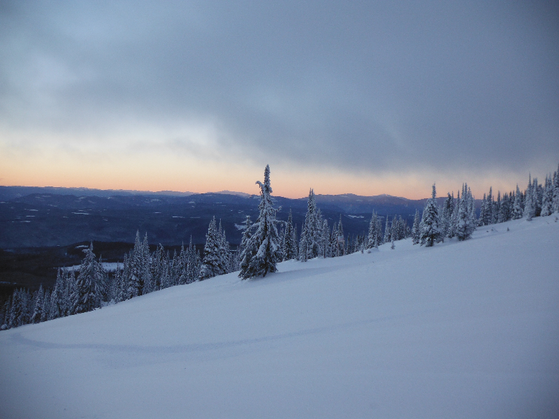 Sunrise at Big White