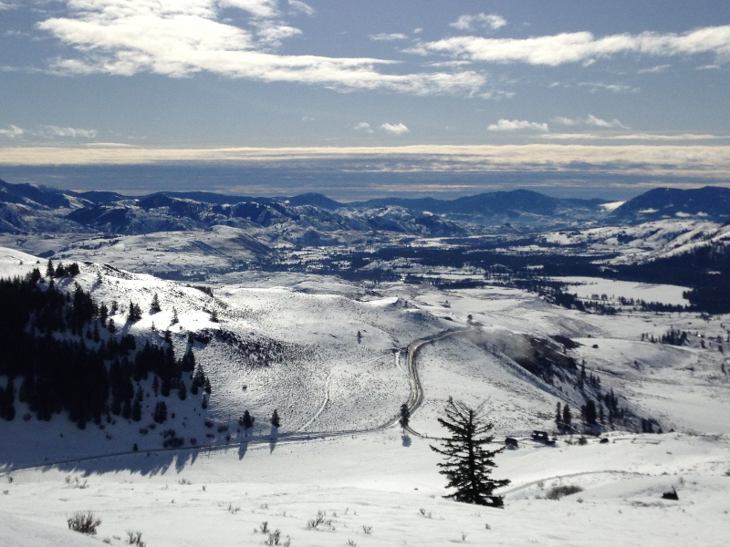 Cougar Mountain ski tour