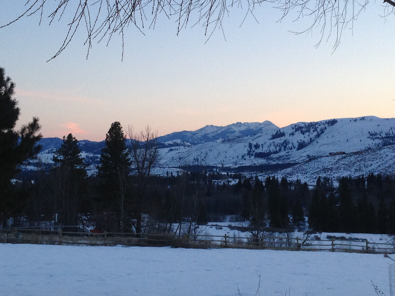 Methow Sunrise