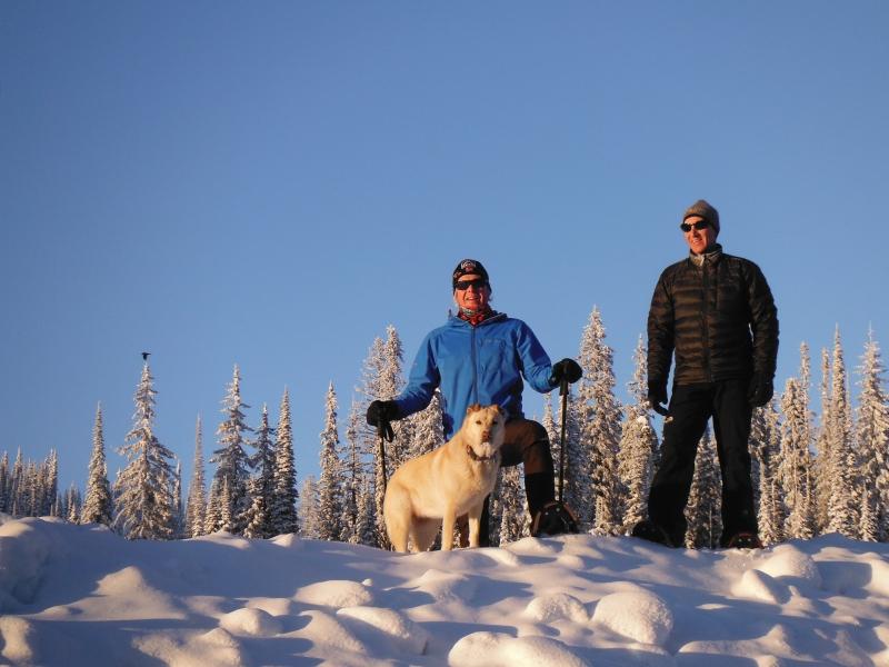 Snowshoe at Big White