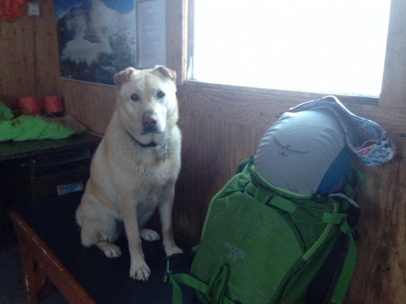Ski patrol cabin at Big White