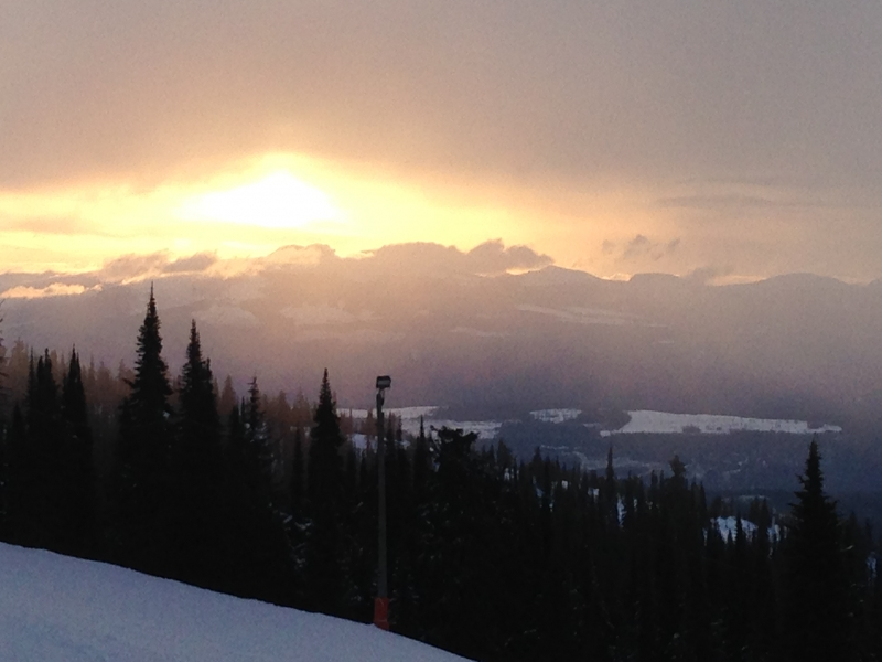 Big White early morning
